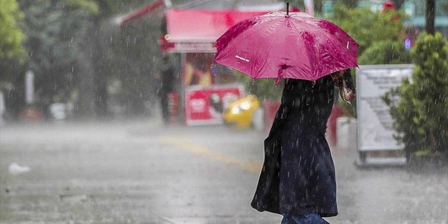 Meteorolojiden Kuvvetli Yağış Uyarısı! Haritalı Hava Durumu