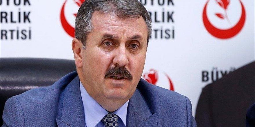 """BBP ve Saadet Partisi'nden """"Afrin operasyonu"""" desteği"""