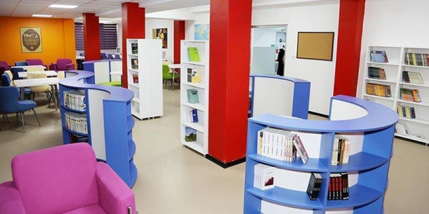 Emniyet'ten okullara Z tipi kütüphane