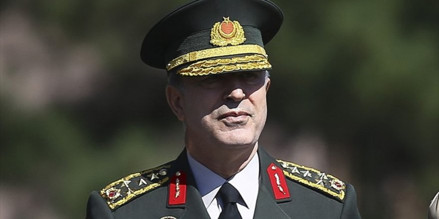 Orgeneral Akar: YPG'nin desteklenmesine müsaade etmeyeceğiz