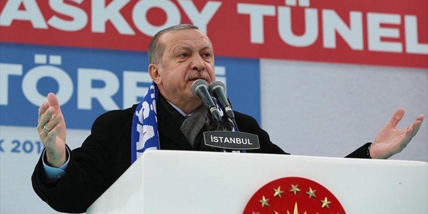 Erdoğan: Hepsinin üzerinden silindir gibi geçeriz