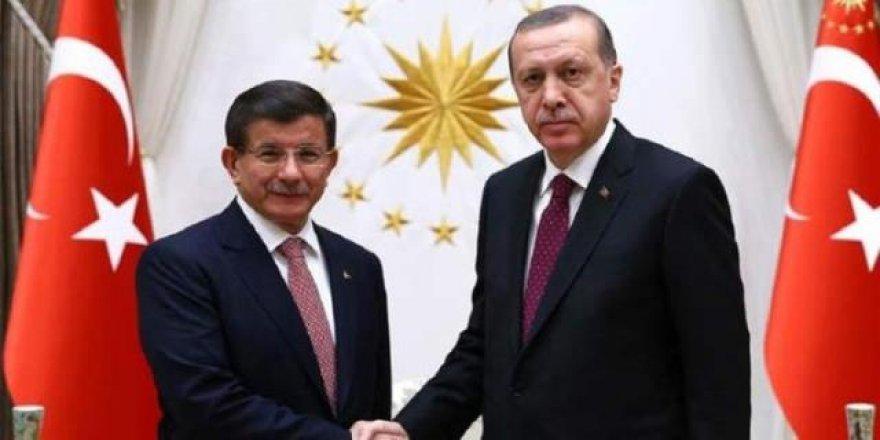 Cumhurbaşkanı Erdoğan, Davutoğlu ile görüştü
