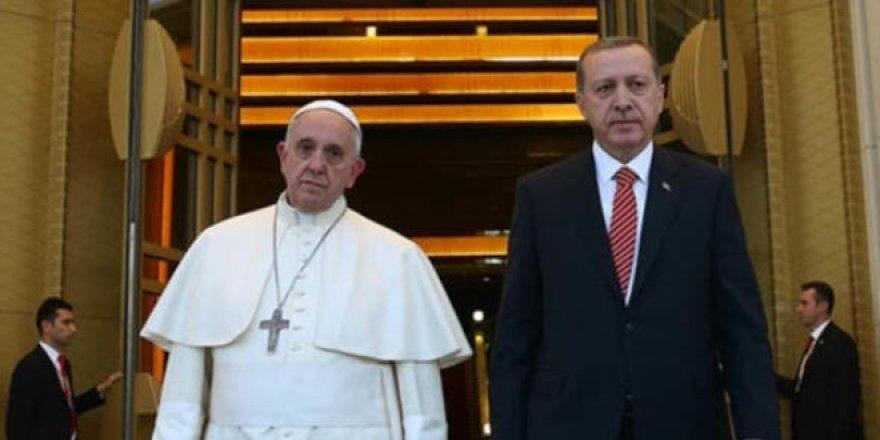 59 yıl sonra bir ilk... Erdoğan Papa görüşmesi