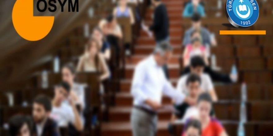 ÖSYM O Öğretmenlere Sınav Görevi Vermiyor