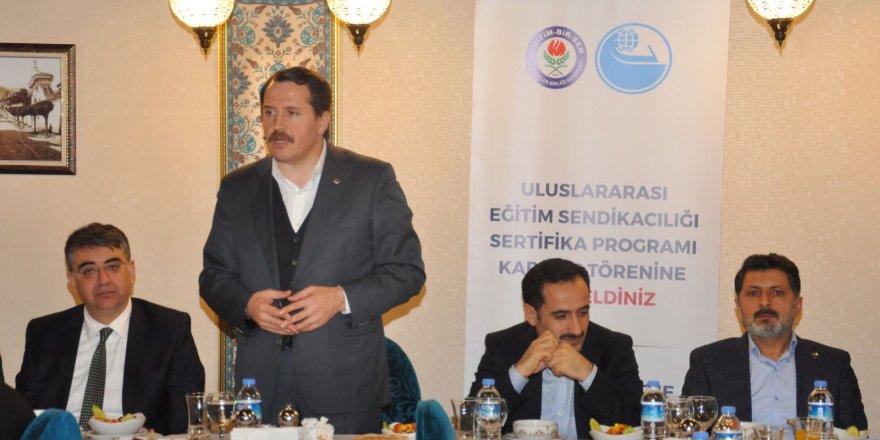 Ali Yalçın: Adaletsizliklerin Durdurulması İçin Eylem Yapılmalı