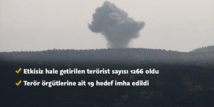 Zeytin Dalı Harekatı'nda etkisiz hale getirilen terörist sayısı 1266 oldu