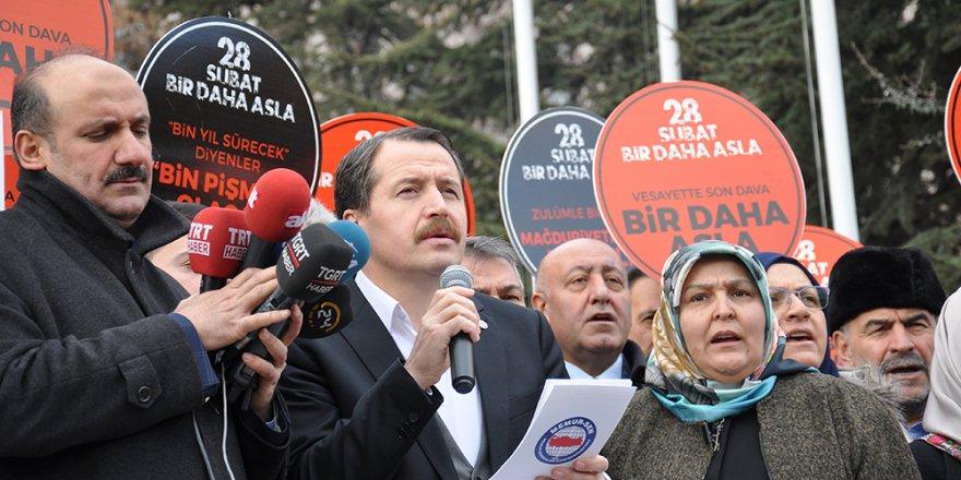 Ali Yalçın, 28 Şubat darbe davasının peşini bırakmıyor