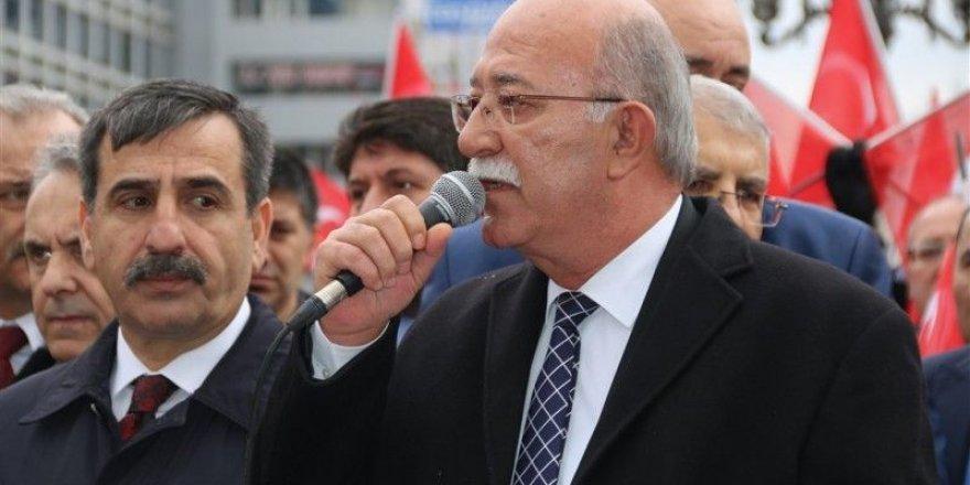 """""""Afrin Harekatına Destek, Şehide Saygı"""" Mitingi"""