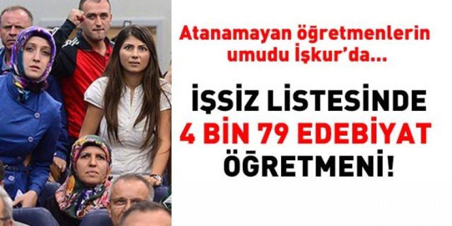 Atanamayan öğretmenlerin gözü İşkur'da!...