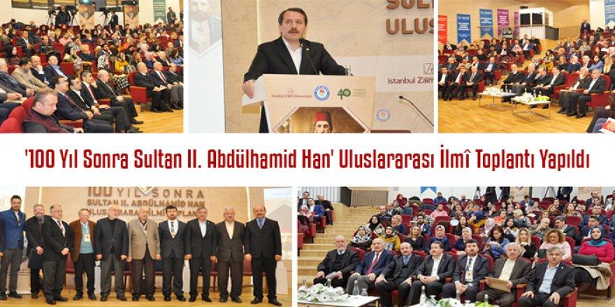Vefatının 100. Yılında Sultan II. Abdülhamid Han Programı