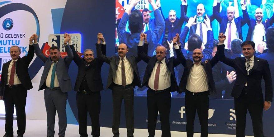 Türk Eğitim-Sen yeni genel başkanı ve yönetim kurulu belli oldu