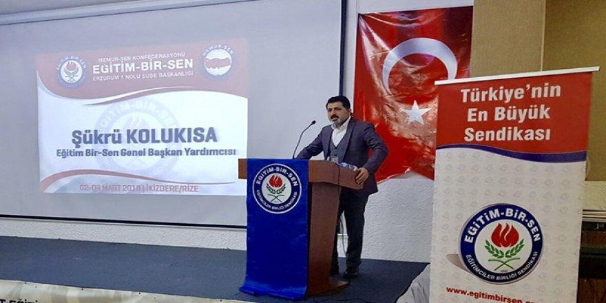 Şükrü Kolukısa'dan MEB Yönetimine Eleştiri: Öğretmenler Odasıyla Tek Bağı Alo 147!