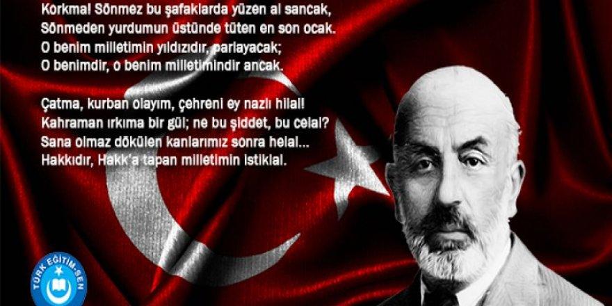 İstiklal Marşımızın Kabulünün 97'inci Yıldönümü Kutlu Olsun.