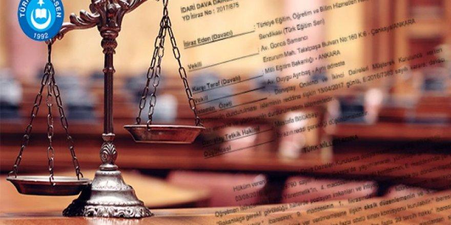 Danıştay'dan Flaş Sözleşmeli Öğretmenlik Kararı - Sözleşmenin Feshine Geçit Vermedi