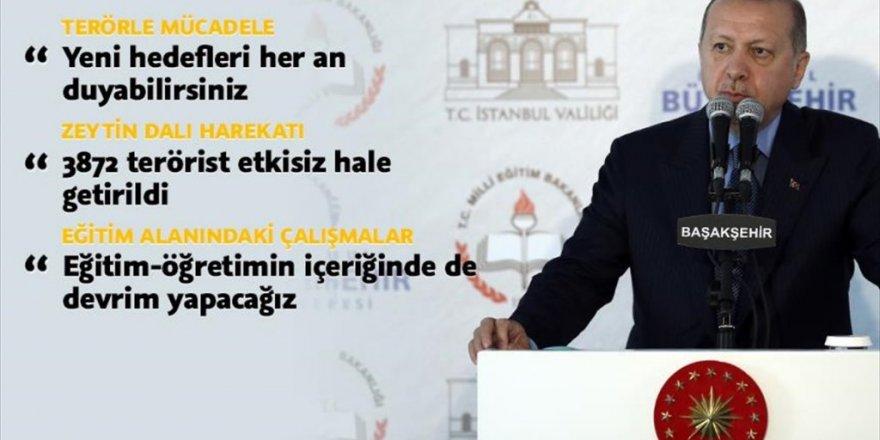 """Erdoğan: """"Okul bahçelerinin altına otopark yapalım"""""""