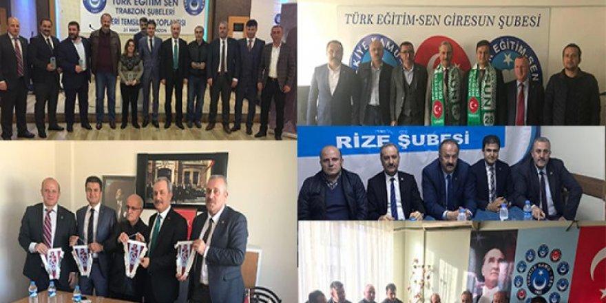 Türk Eğitim-Sen'den Karadeniz Çıkarması: Rize, Trabzon, Giresun, Ordu...