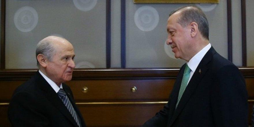 Erdoğan-Bahçeli erken seçim için bir araya geldi