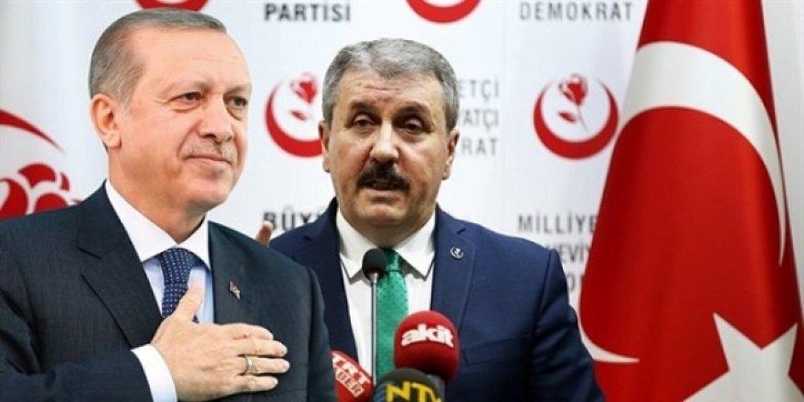 BBP de açıkladı: Adayımız Erdoğan