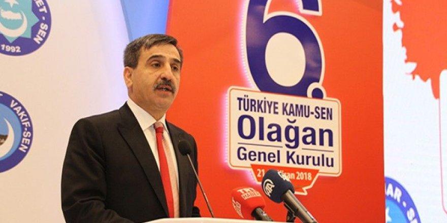 Türkiye Kamu-Sen Genel Kurulu Yapılıyor -  Önder Kahveci Tek Aday!