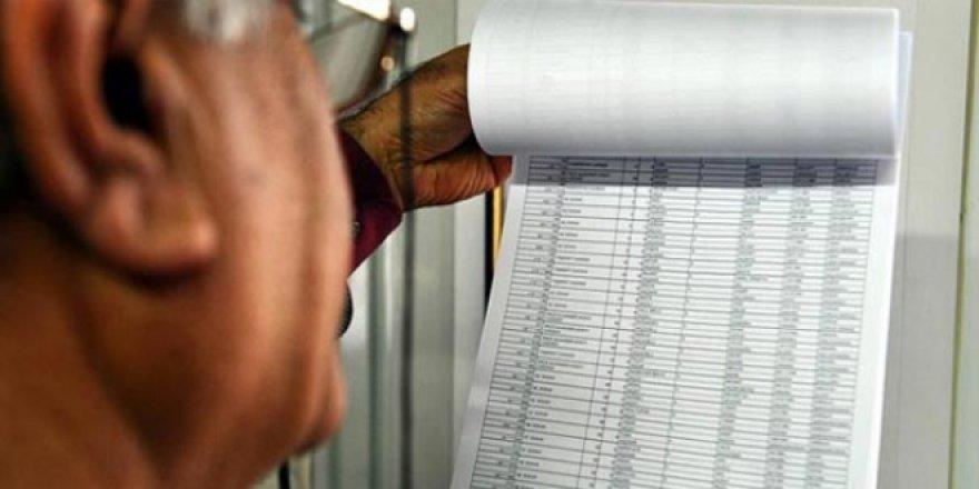 Seçmen listeleri askıya çıkarıldı