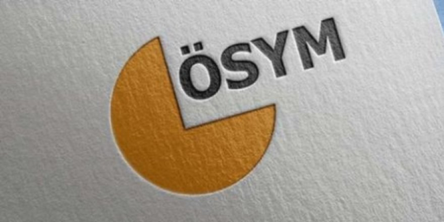 ÖSYM'den konum gösteren 'QR kod' sistemi