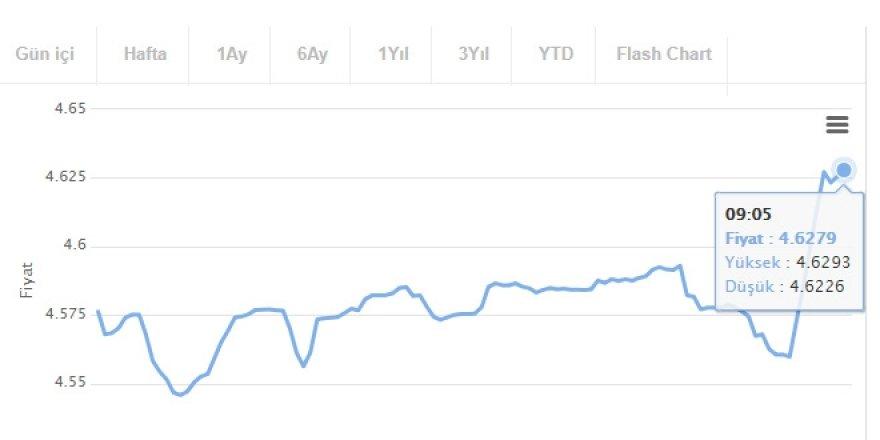 Faiz kararı sonrası geri çekilen dolar, tekrar yükselişte