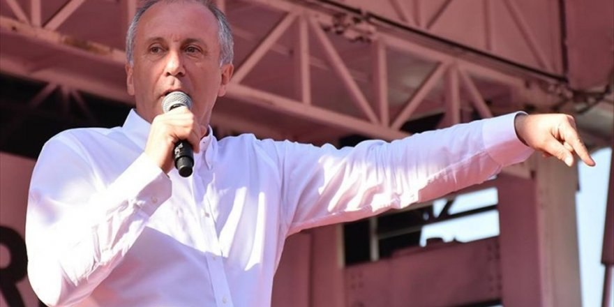 CHP'nin cumhurbaşkanı adayı İnce: Merkez Bankasının para politikasına müdahale etmeyeceğiz