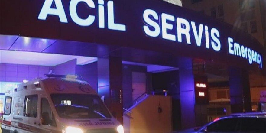 Öğretmenleri taşıyan minibüs devrildi: 6 yaralı