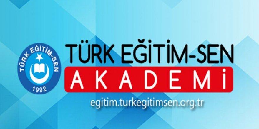 Türk Eğitim-Sen Akademi Üyelerine Hizmet Vermeye Başladı