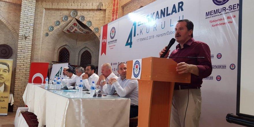 Eğitim-Bir-Sen 41. Başkanlar Kurulu Özbekistan'da Yapılıyor
