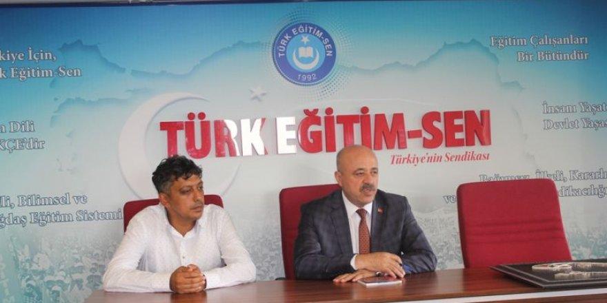 Türk Eğitim-Sen'den Sözleşmeli Öğretmenlere Destek