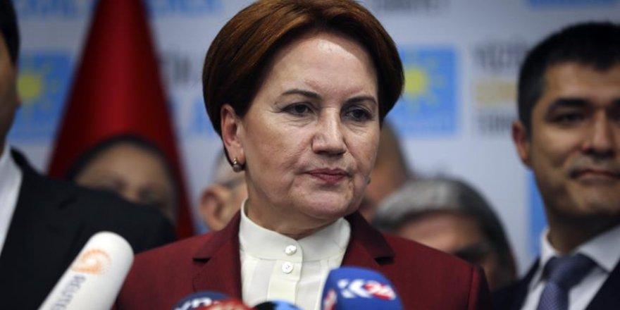 İYİ Parti Genel Başkanı Meral Akşener, partisinin oy oranını açıkladı