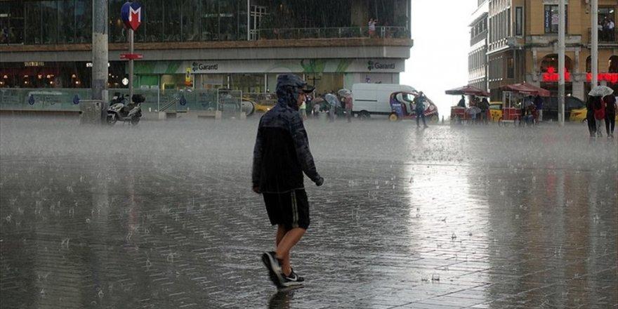 Meteorolojiden kuvvetli sağanak uyarısı!24 Temmuz 2018 Salı Hava durumu