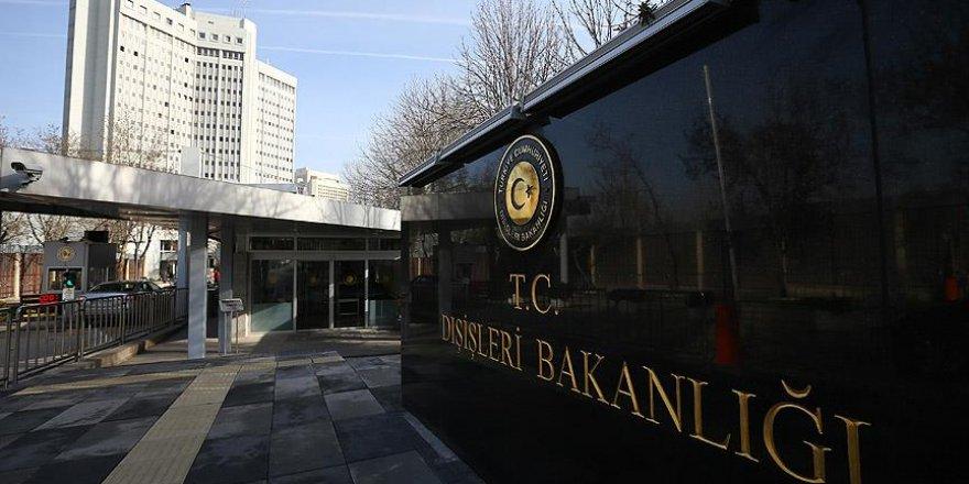 Türk Dışişleri: ABD'nin sözde barış planı ölü doğmuştur