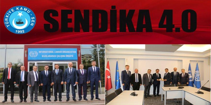 Türkiye Kamu-Sen'den sendikacılıkta çığır açacak hamle: SENDİKA 4. 0