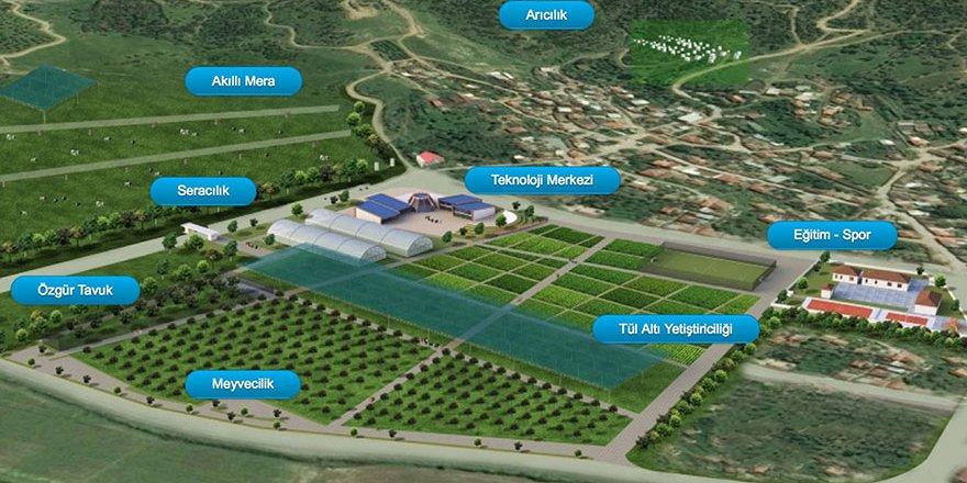 Vodafone Akıllı Köy, çocuk misafirlerini ağırladı
