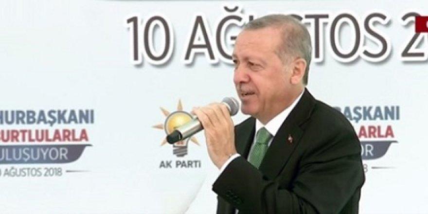 Erdoğan: Bugün değil de ne zaman? Herkes dolar bozsun