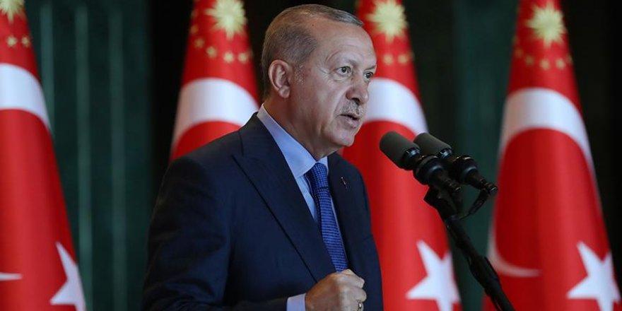 Erdoğan: Yeni zaferlerin eşiğinde bulunduğumuza inanıyorum