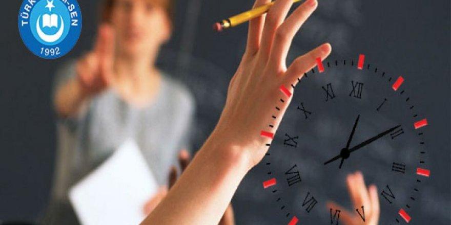 Destekleme Kurslarında Öğretmenlere Nöbet Ücreti Ödenmelidir