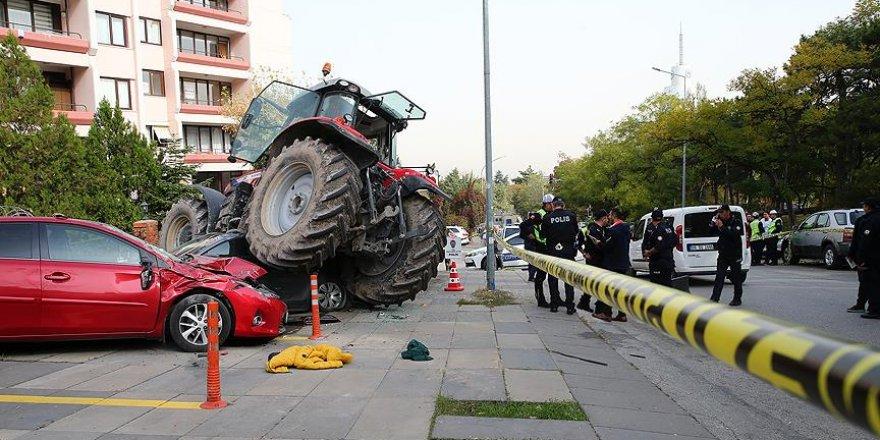 Başkentte 'traktör' alarmı