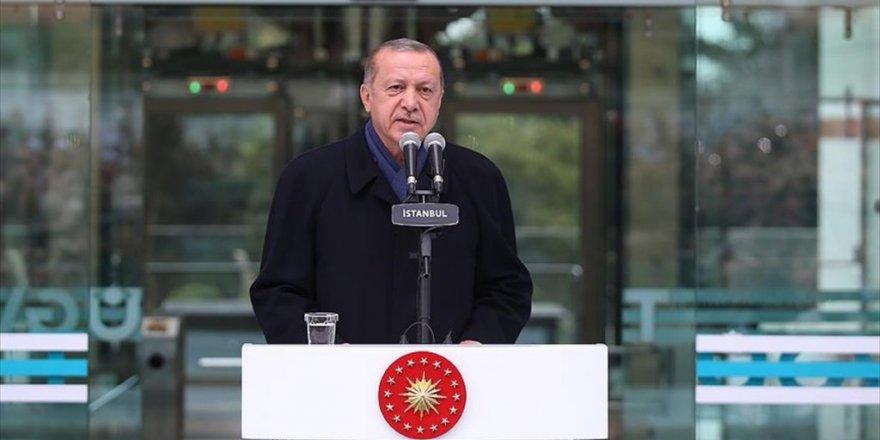 Erdoğan: Yeniden diriliş, şahlanış döneminin arifesindeyiz'