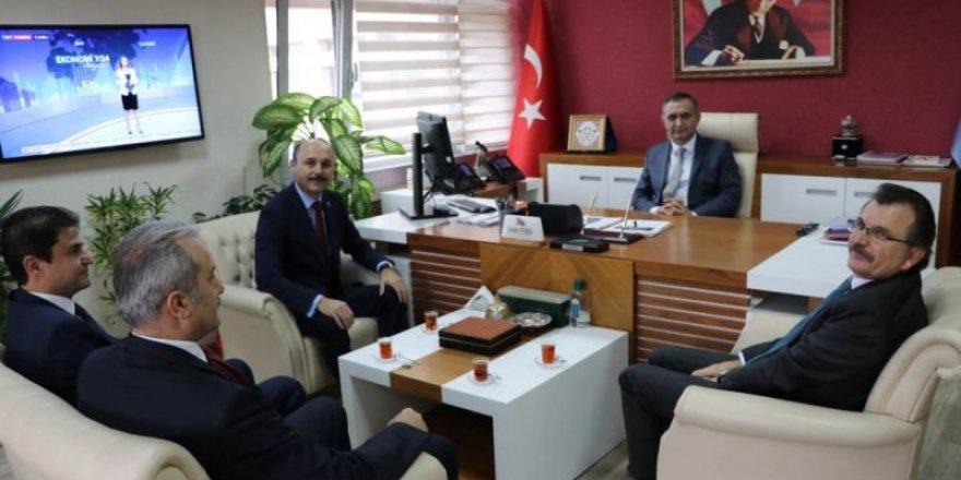 MEB Ortaöğretim Genel Müdürü Cevdet Vural'a Ziyaret