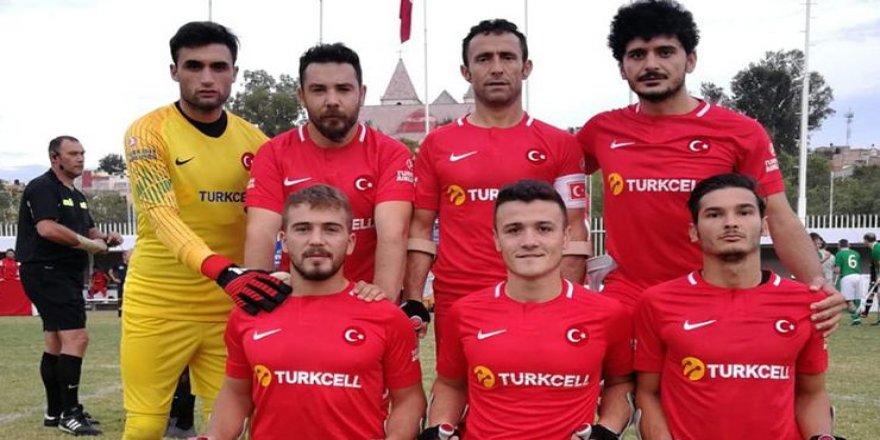 Türkiye Ampute Milli Takımı finalde! Harikasınız çocuklar…