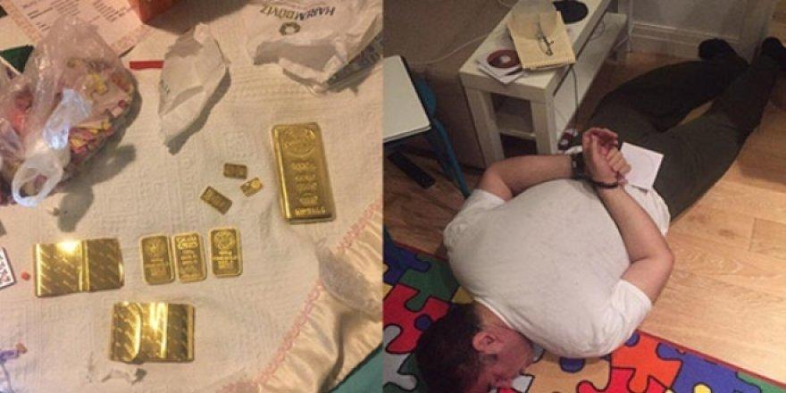 FETÖ'nün kilit isimleri külçe altınlarla yakalandı