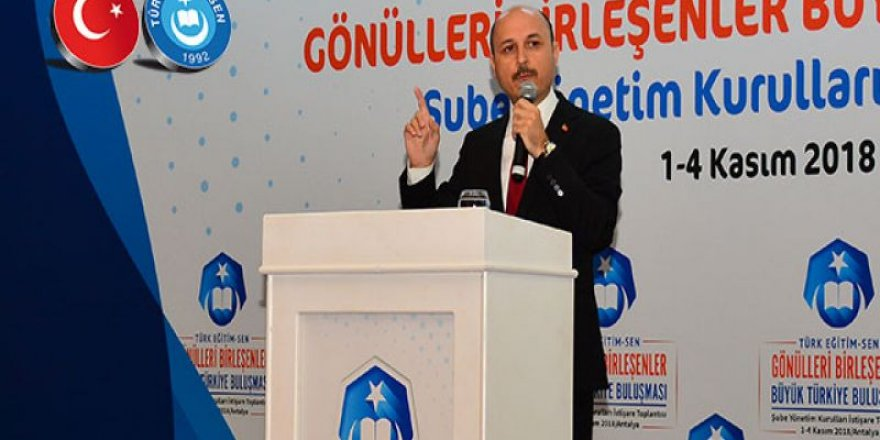 """Geylan,""""Yönetici Atama Seçime Kurban Edilmesin"""""""