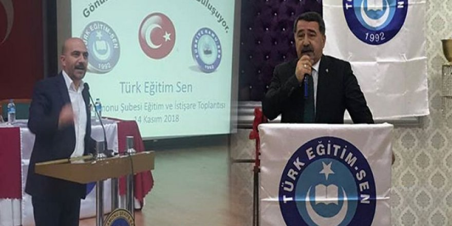 Türk Eğitim-Sen Yöneticileri 24 Kasım'da Öğretmenlerle Buluştu