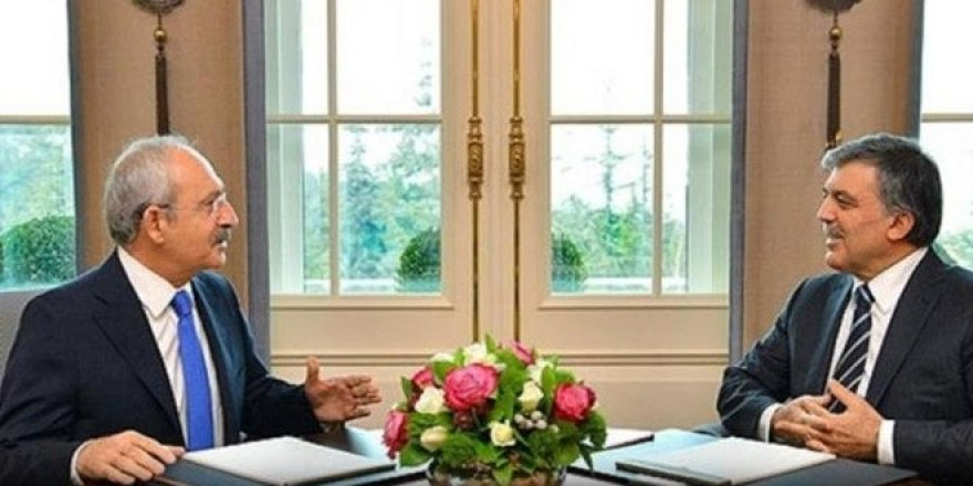Kılıçdaroğlu Abdullah Gül'le görüştü