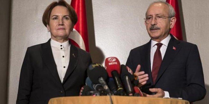 CHP ve İyi Parti arasındaki ittifak masası dağıldı