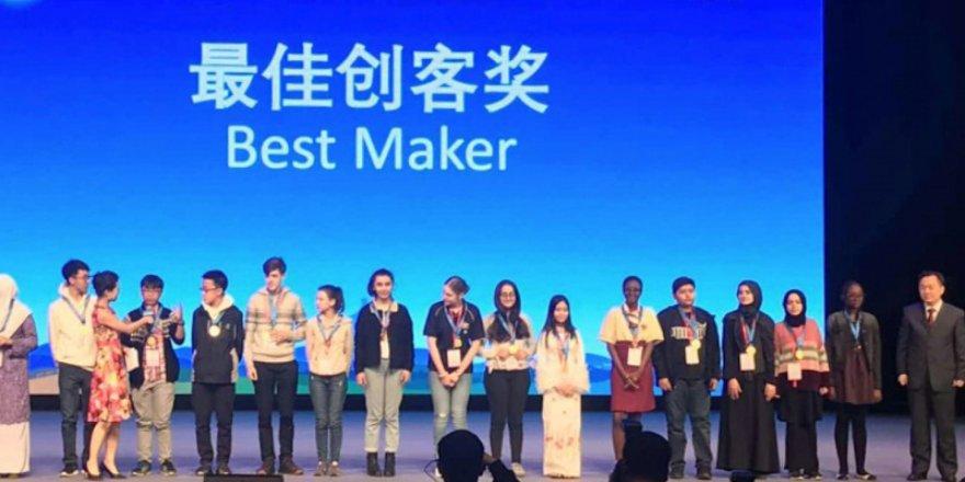 İmam hatipli kız öğrenciler, Çin'den madalyalarla döndü