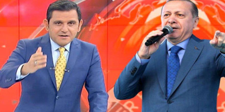Erdoğan'dan Fatih Portakal'a: Portakal mıdır, mandalina mıdır